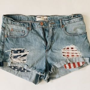 Garage American Flag Festival Shorts 13